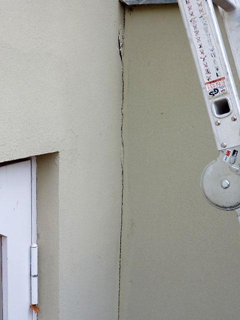 ri sanierung am erker einer hausau enwand bauunternehmen ralf diewell berlin mahlsdorf. Black Bedroom Furniture Sets. Home Design Ideas